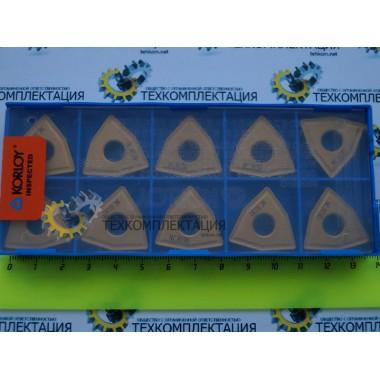 Пластина WNMM-130612 B25 NC3030 трёхгранная ломаная
